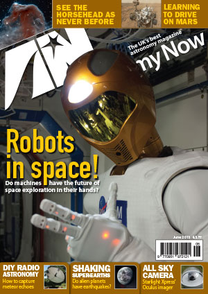 Astronomy Now June 2013 Cover