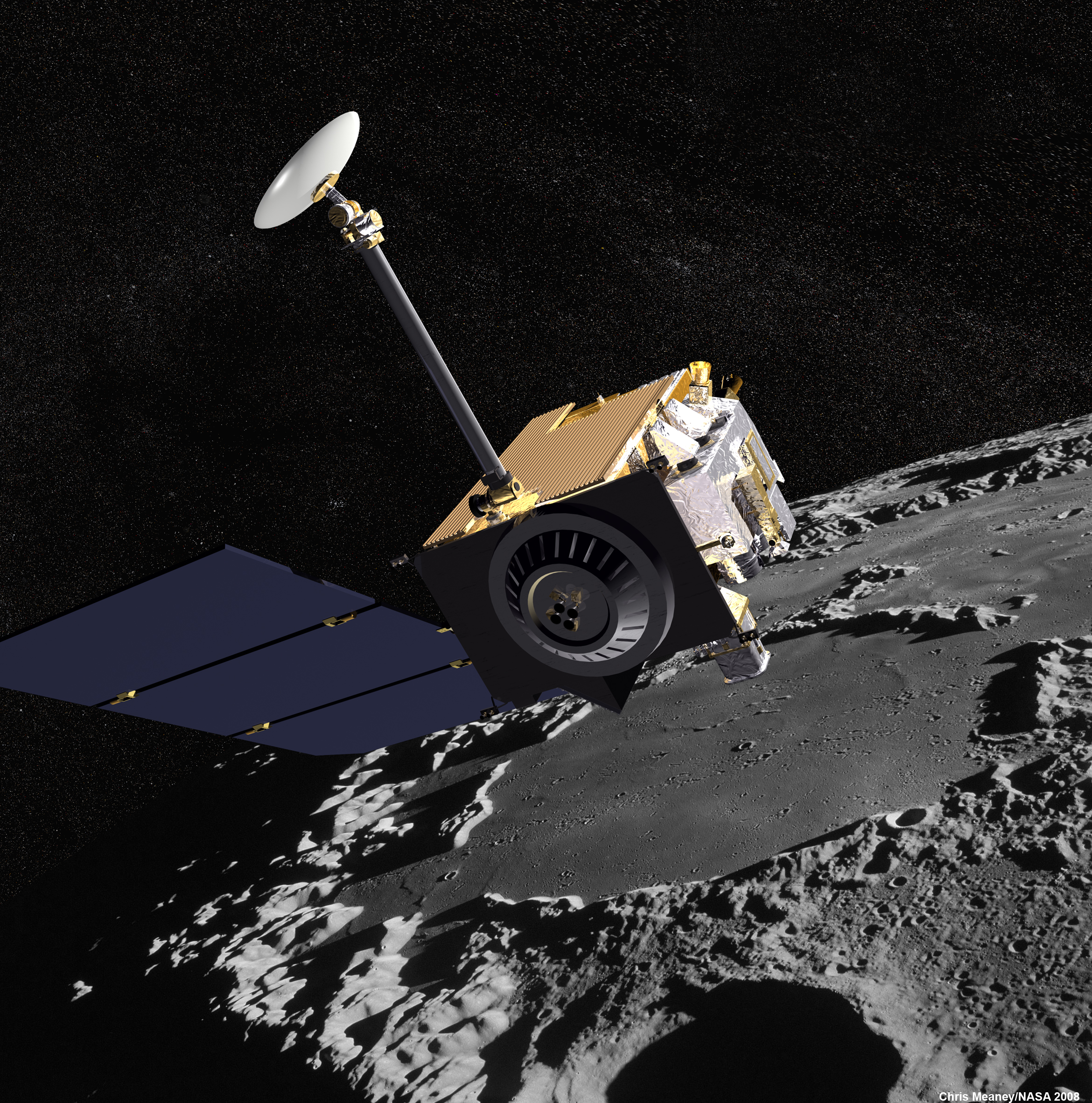 Moon probe's impact crater found – Astronomy Now