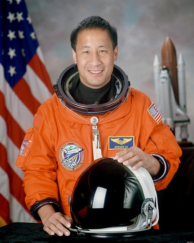 Dr. Ed Lu, former NASA astronaut and CEO of the B612 Foundation, which is building the Sentinel Space Telescope. Image credit: NASA