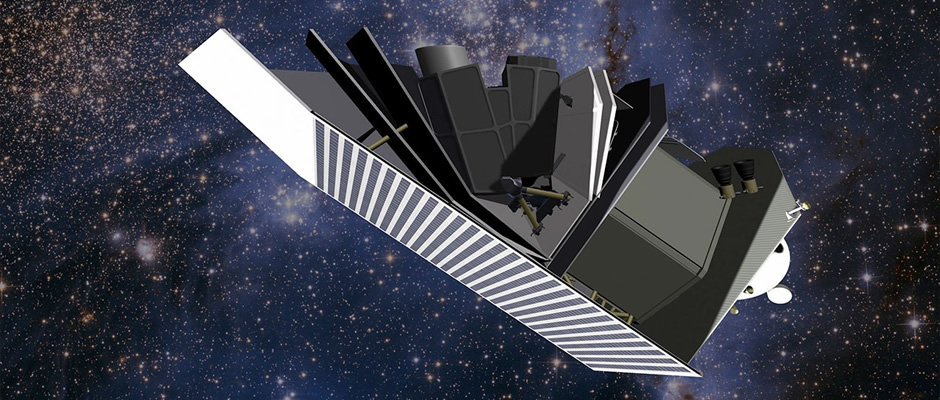 An artist's impression of the 51-centimetre aperture asteroid-hunting Sentinel Space Telescope. Image: B612 Foundation