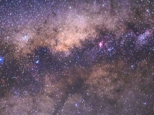 colourful skies above VLT featured