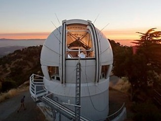 The 2.4-metre Automated Planet Finder telescope at Lick Observatory. Image credit: John Sebastian Russo.