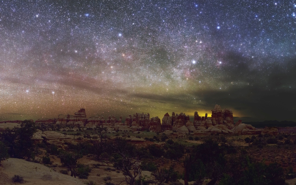 The 'Doll House' in the Maze District of Canyonlands National Park. Image credit: Dan Duriscoe / NPS.