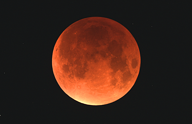Astronomy Now's web editor AdeAshford captured this view of the supermoon in mid-eclipse from mid-Norfolk, UK at 3:47amBST on Monday, 28September. Celestron80ED refractor with a Canon1100D, 6-second exposure, ISO800.