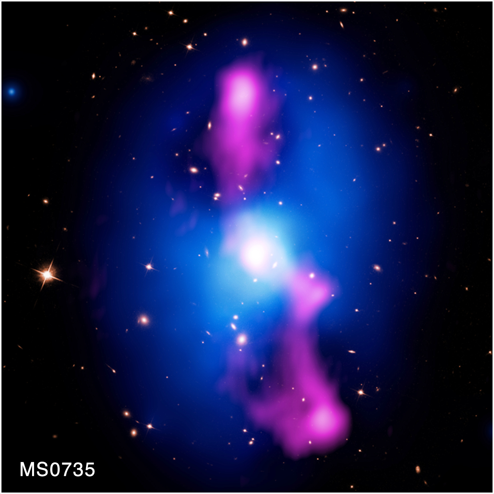 Image credit: Chandra X-ray Center / NASA'S Marshall Space Flight Center.