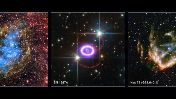 Recently released images from NASA's Chandra X-ray Observatory archive. Detailed descriptions of each object may be found in the article below. Image credit: Chandra X-ray Center / NASA'S Marshall Space Flight Center.