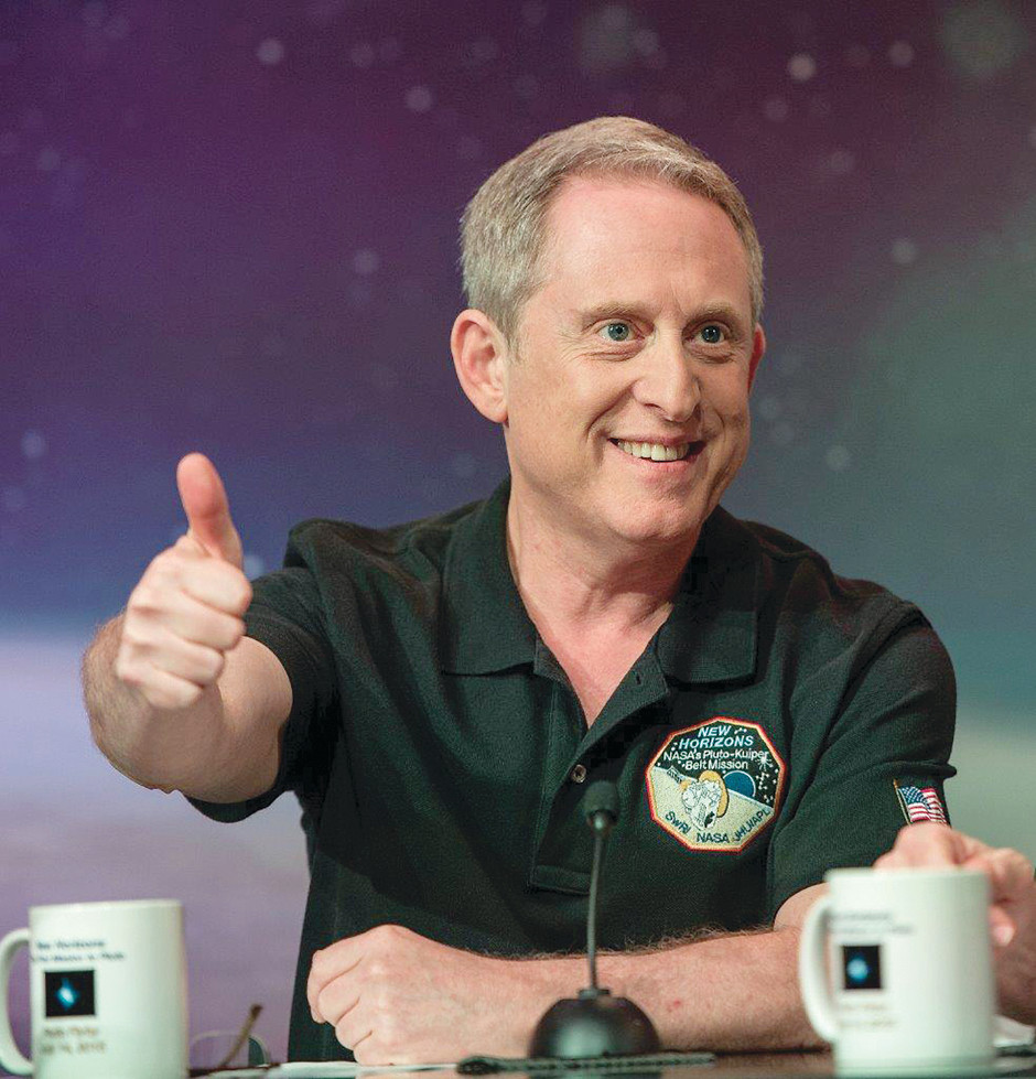 Portrait of Dr. Alan Stern, associate vice president of the Space Science and Engineering Division at Southwest Research Institute (SwRI) and the Principal Investigator of NASA's NewHorizons mission to Pluto. Image courtesy of NASA/Bill Ingalls.