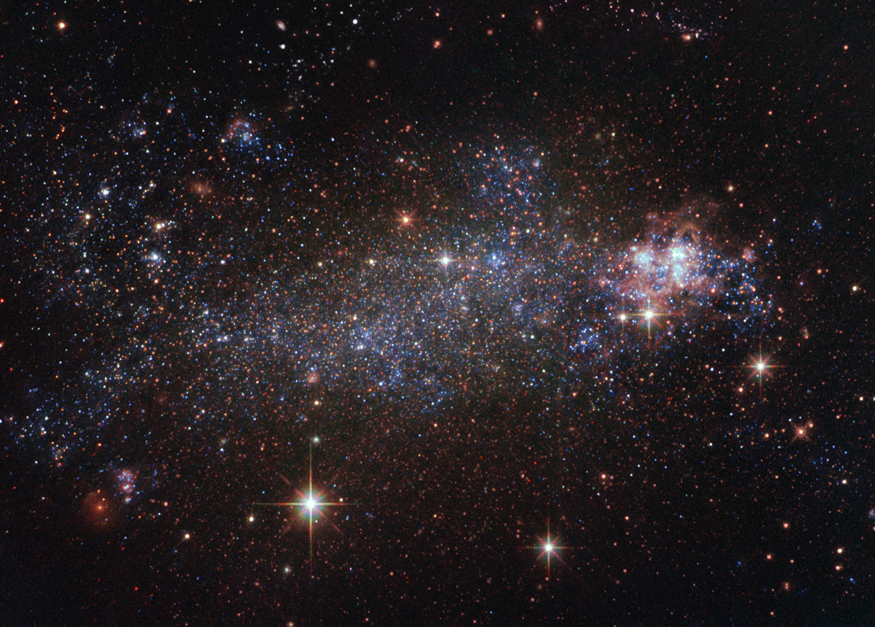 content of a irregular galaxy star - photo #7