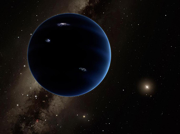 An artist's impression of what 'Planet Nine' could look like. Image: Caltech/R Hurt (IPAC).