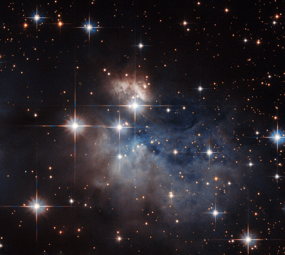 IRAS12196-6300 is also known as Hen2-80 and ESO95-7. It is a so-called emission-line star some 2,300 light-years away from Earth in the southern constellation of Crux. Image credit: ESA/Hubble & NASA. Acknowledgement: Judy Schmidt.