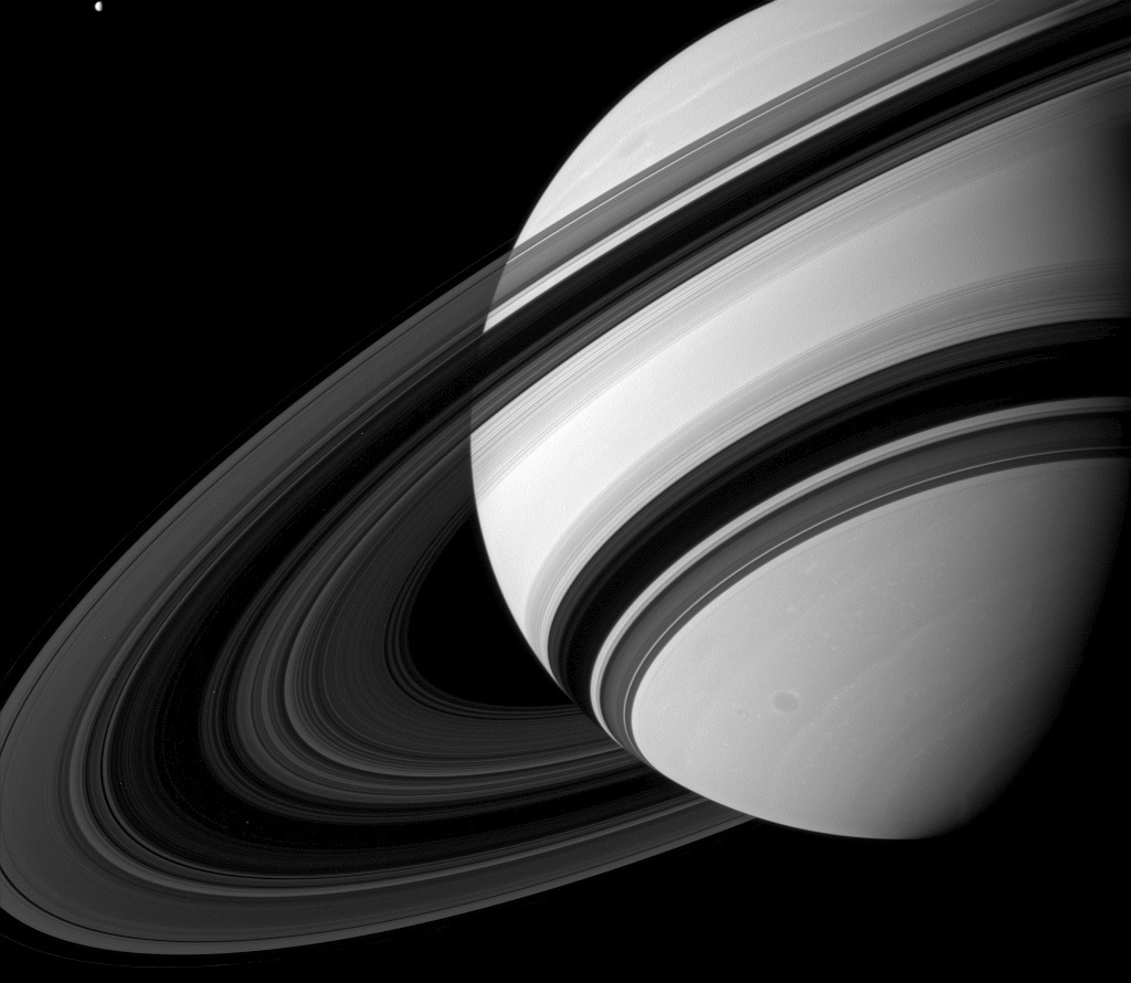 Saturn S Rings Less Than Meets The Eye Astronomy Now