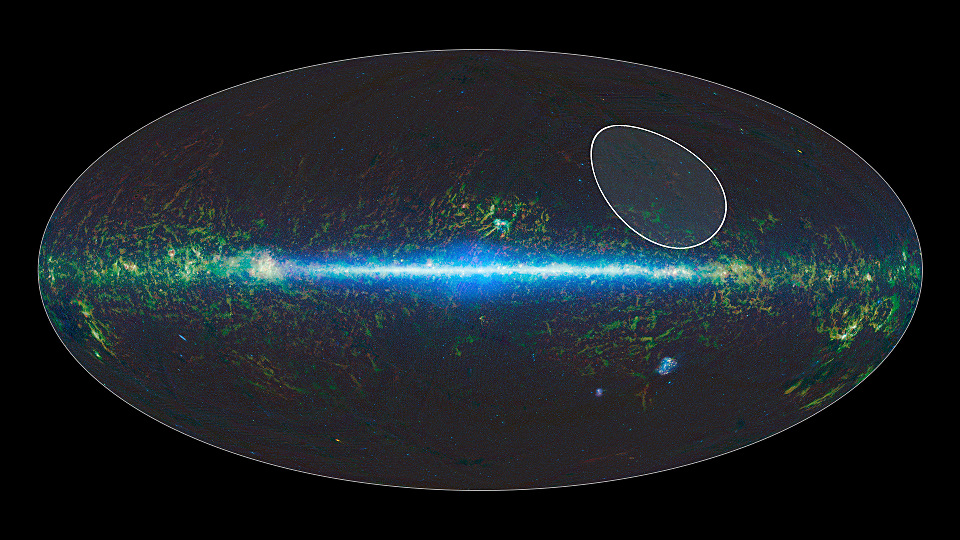 A sky map taken by NASA's Wide-field Infrared Survey Explorer, or WISE, shows the location of the TWHydrae family, or association, of stars, which lies about 175 light-years from Earth and is centred in the Hydra constellation. The stars are thought to have formed together around 10million years ago. Recently, data from WISE and its predecessor, the Two Micron All Sky Survey, or 2MASS, found the lowest-mass free-floating object in this family — a likely brown dwarf called WISEA J114724.10−204021.3. Image credits: NASA/JPL-Caltech.