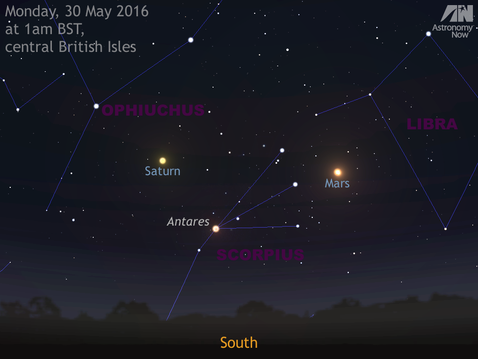 See Mars At Its Closest For Over A Decade And Saturn At