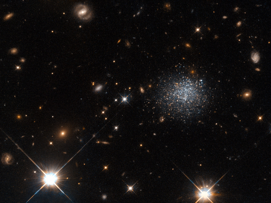Hubble Space Telescope Finds Victim of Cosmic Crime