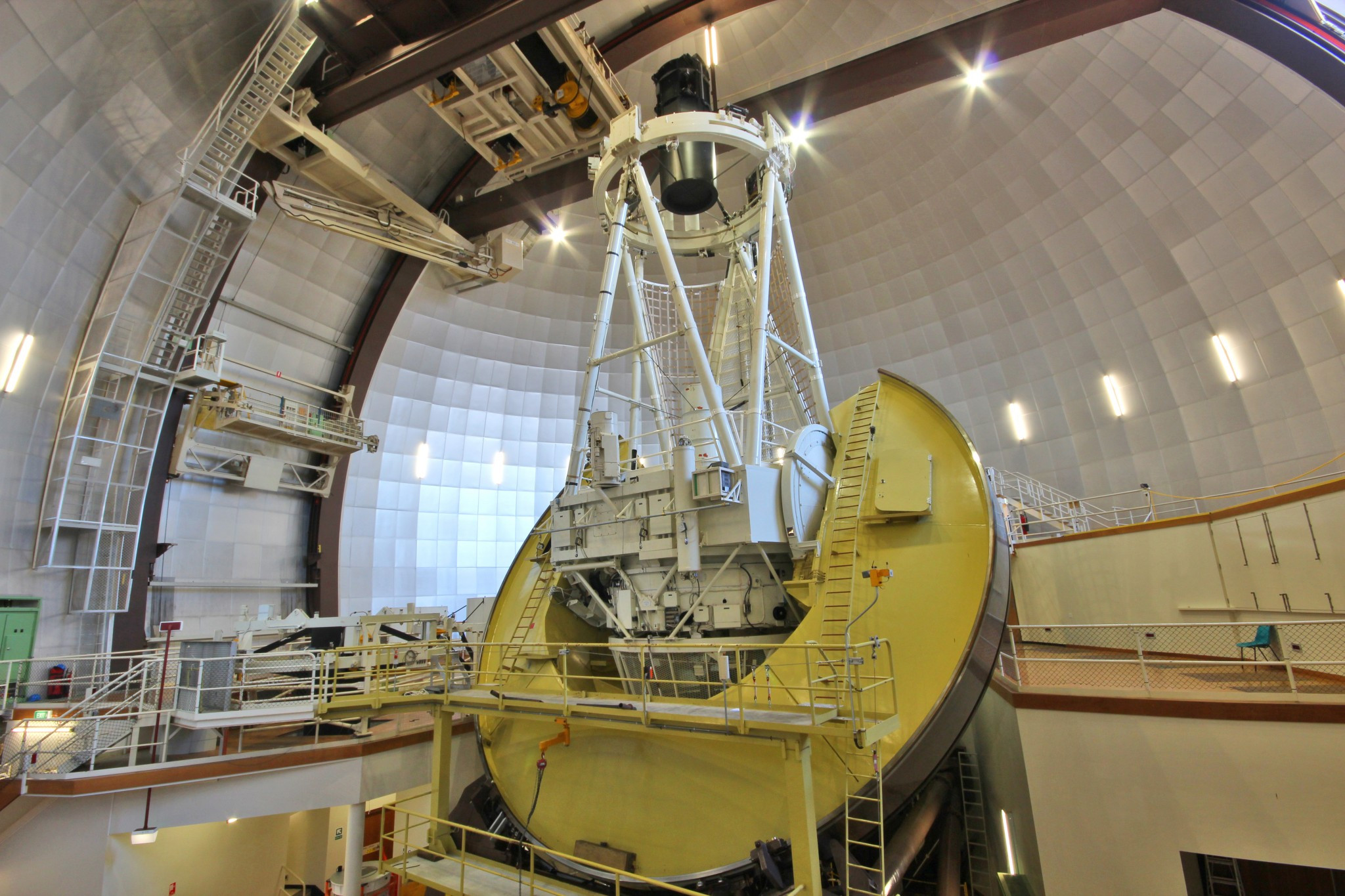 The 3.9-metre Anglo-Australian Telescope located at Siding Spring Observatory in New South Wales. Image credit: Angel Lopez-Sanchez/AAO.