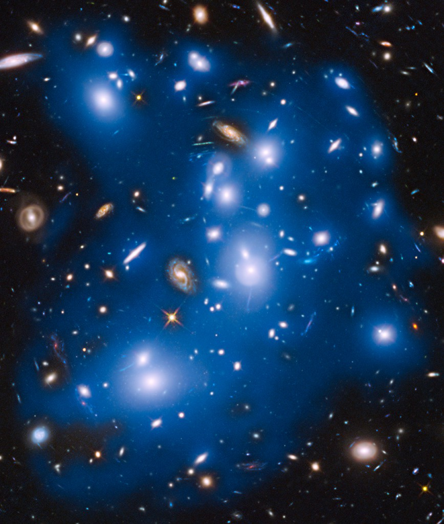 Image: NASA, ESA, M. Montes (IAC), and J. Lotz, M. Mountain, A. Koekemoer, and the HFF Team (STScI)