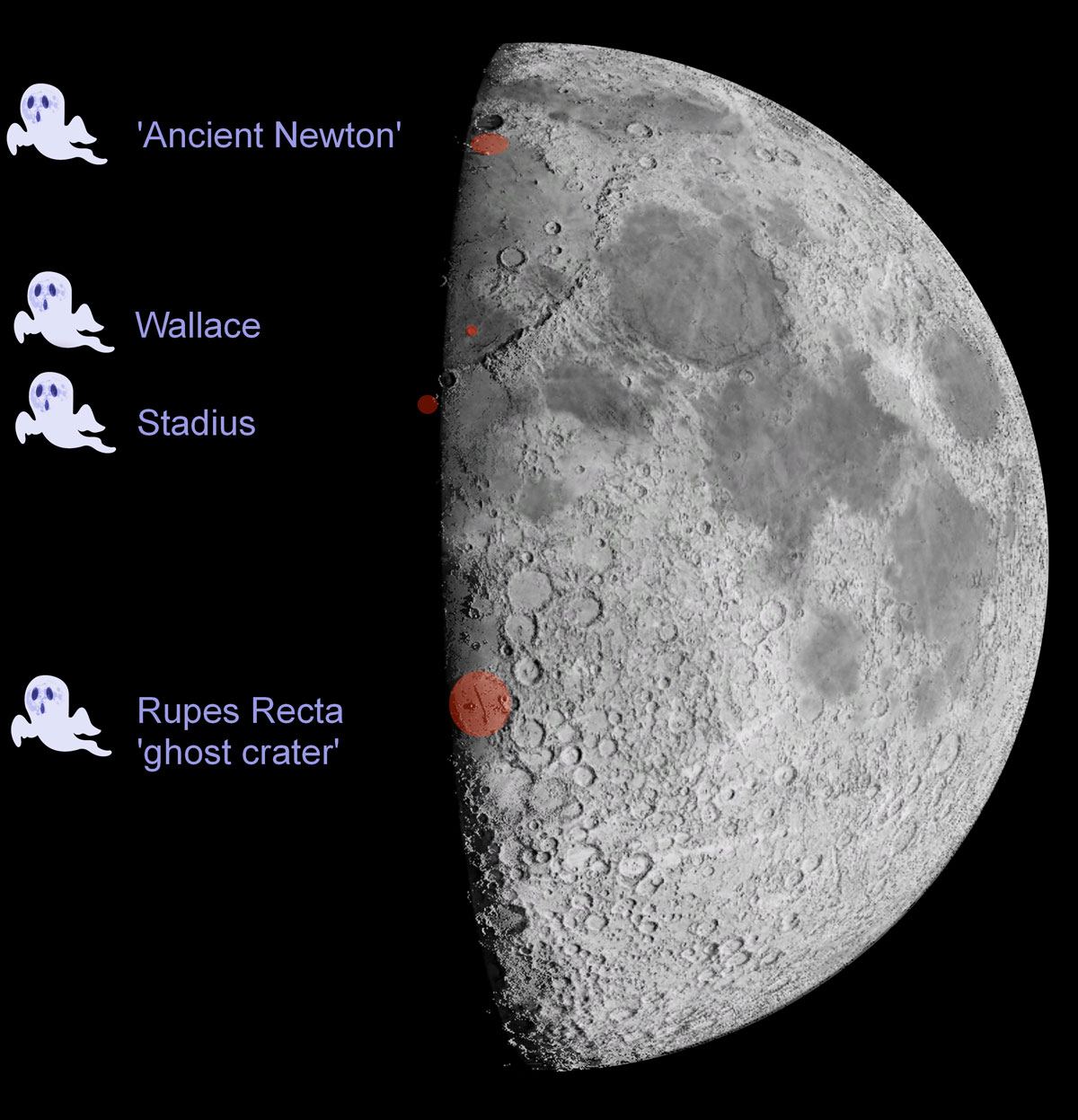 Ghosts on the Moon at Halloween – Astronomy Now