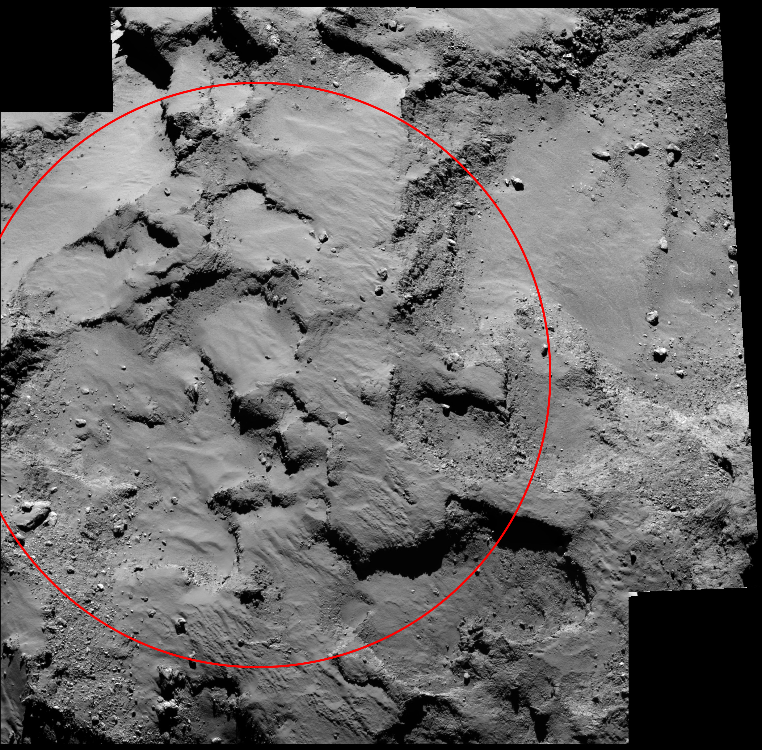 Philae's comet landing site named Agilkia – Astronomy Now