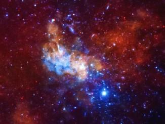 Chandra X-ray Observatory image of Sagittarius A*