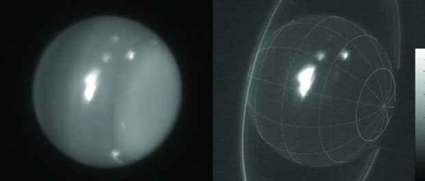 Giant storm on Uranus in the 2.2-micron IR band
