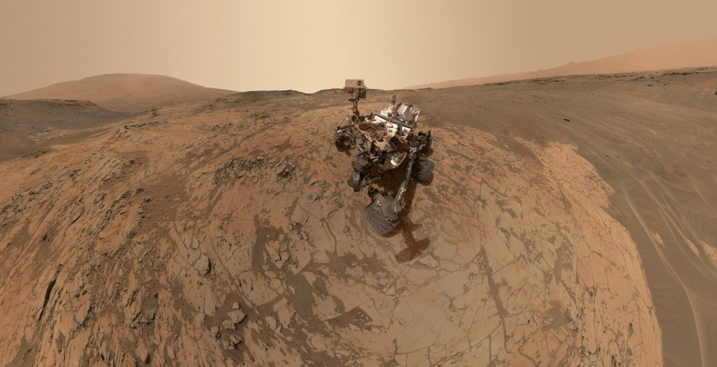 NASA's Curiosity rover has found a form of nitrogen on Mars that may have once been useful to ancient microbial life on the red planet. Image: NASA/JPL-Caltech/MSSS.