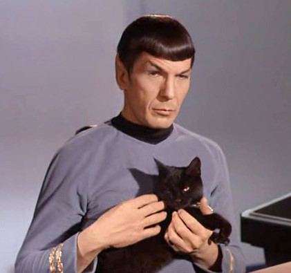 Live long and pros-purr. Image credit: CBS Television Studios