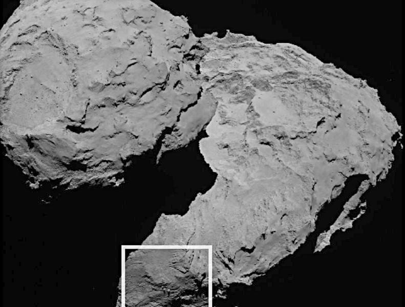 Image credit: ESA/Rosetta/MPS for OSIRIS Team MPS/UPD/LAM/IAA/SSO/INTA/UPM/DASP/IDA.