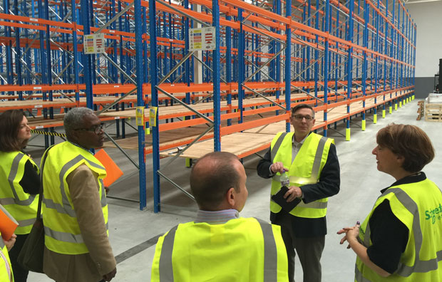 Celestron CEO Dave Anderson takes members of the UK astronomy press on a tour of the company's new UK warehouse.