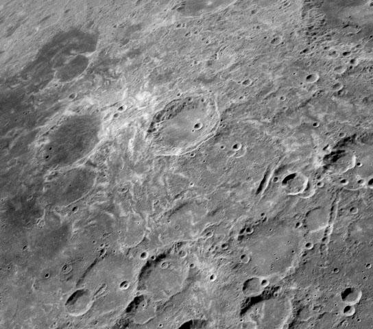 New research suggests that comet collisions could explain the formation of lunar swirls like these at Mare Marginis on the Moon's far side. Image credit: NASA.