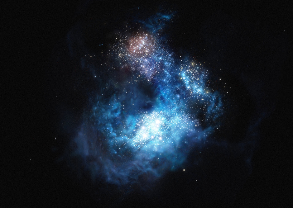 Brightest early galaxy likely to contain first generation ...