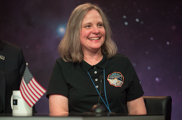 Alice Bowman, New Horizons' mission operations manager, or MOM. Credit: NASA/Bill Ingalls