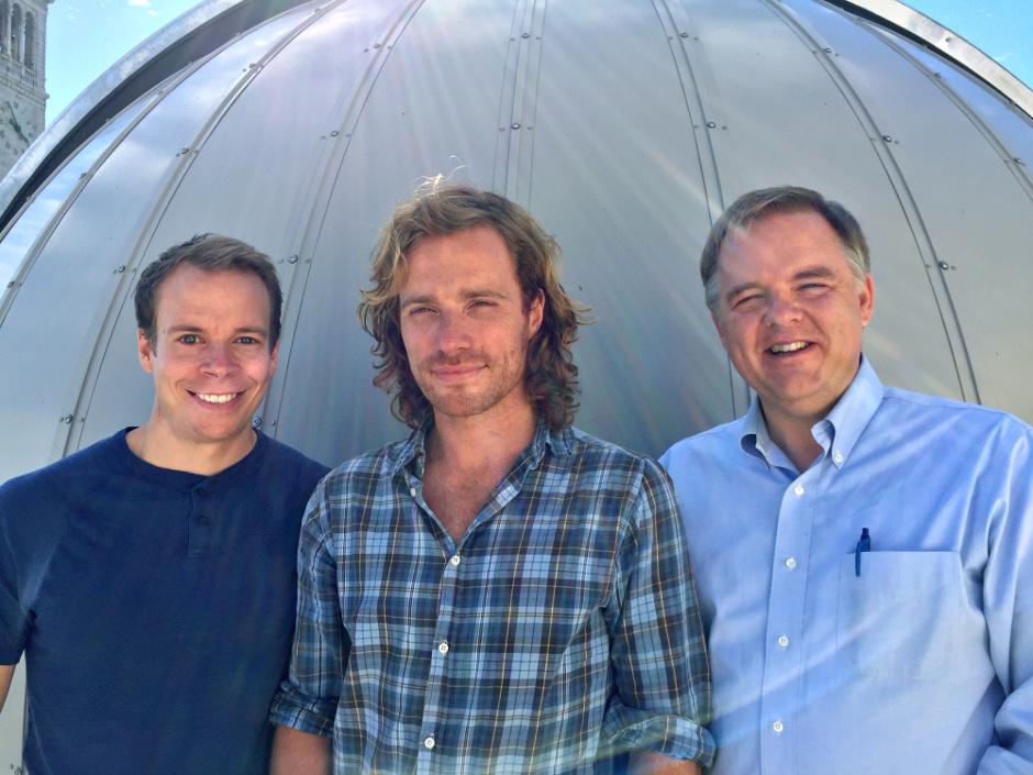 Jim Fuller, Matteo Cantiello and Lars Bildsten. Image credit: Bill Wolf.