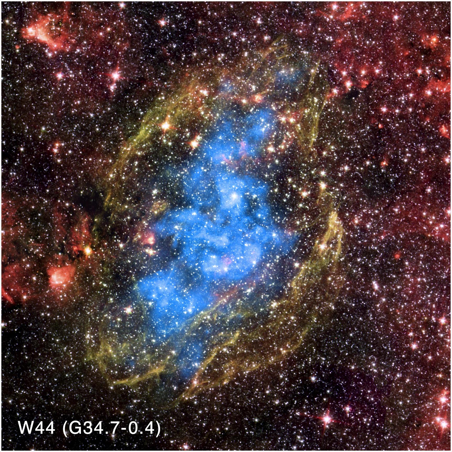 Image credit: Chandra X-ray Center / NASA'S Marshall Space Flight Center.