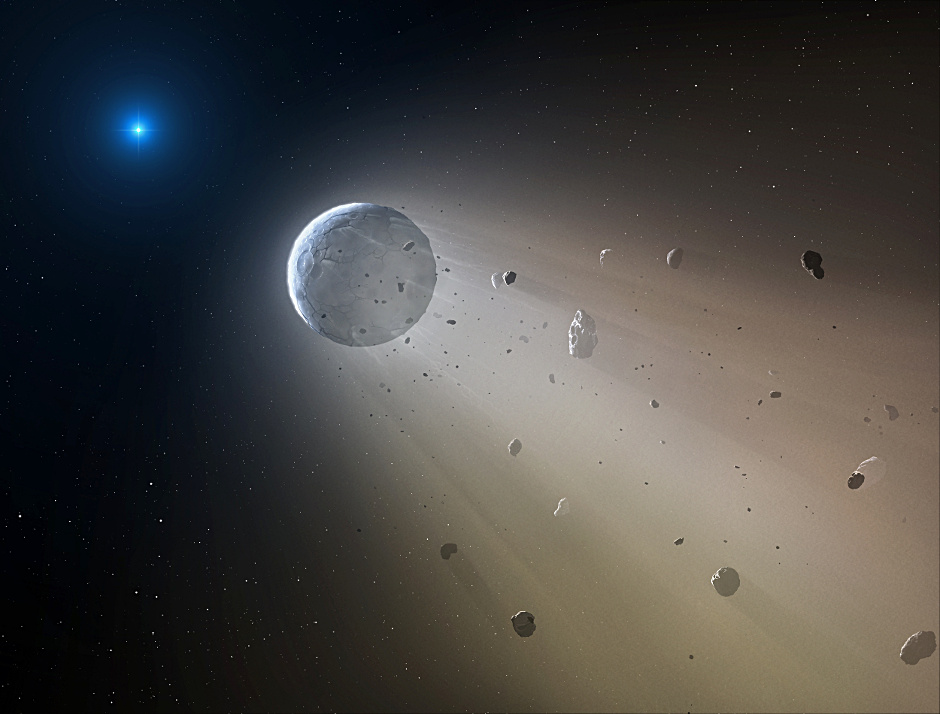 "White dwarf ""Death Star"" seen destroying a planet ..."