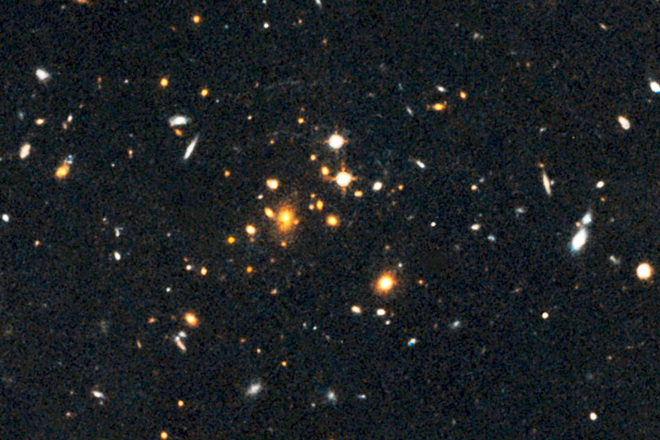 Most distant massive galaxy cluster identified – Astronomy Now
