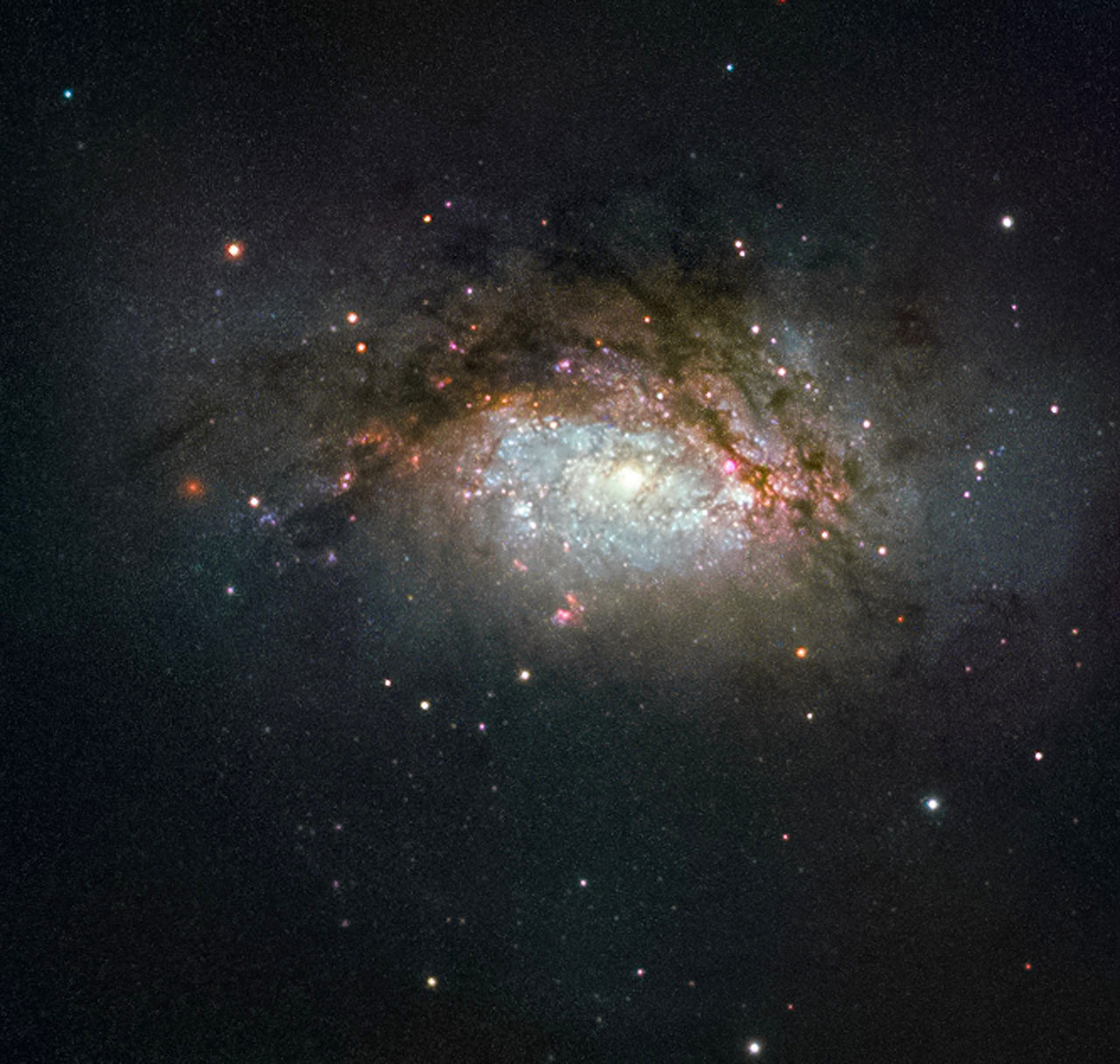 A galactic mega-merger – Astronomy Now