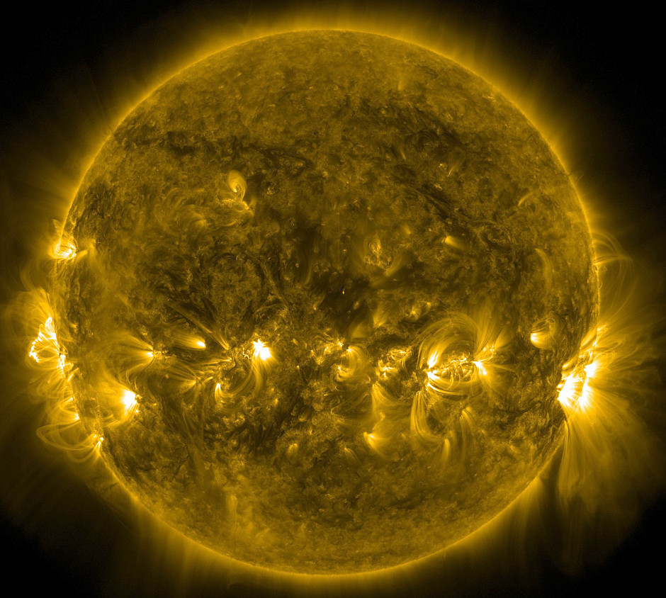 Solar image courtesy of NASA's Solar Dynamics Observatory. Image credit: NASA.