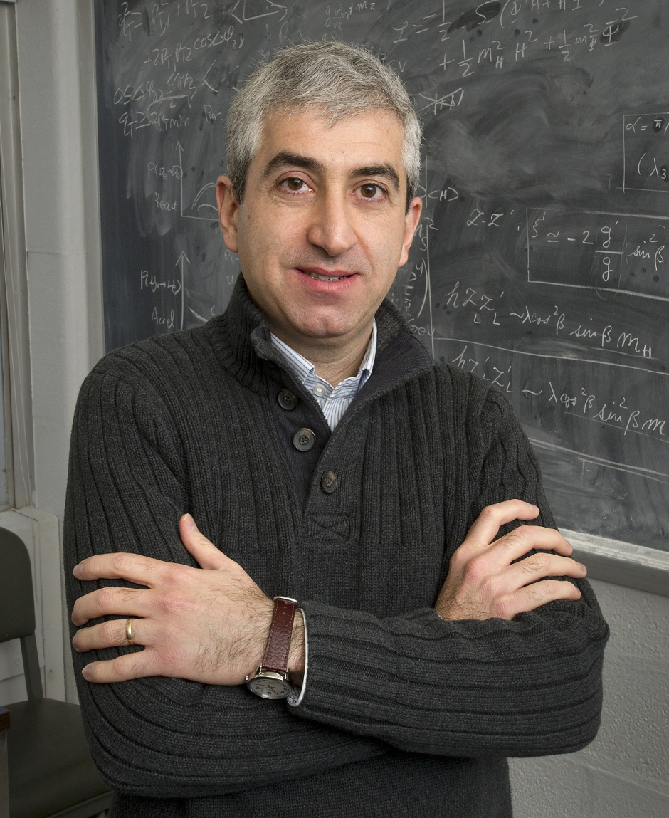 Brookhaven Lab. physicist Hooman Davoudiasl published a theory that suggests a shorter secondary inflationary period that could account for the amount of dark matter estimated to exist throughout the cosmos. Image credit: Brookhaven National Laboratory.