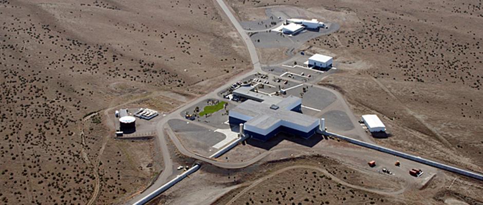 LIGO Hanford Observatory. Image credit: Caltech/MIT/LIGO Laboratory.