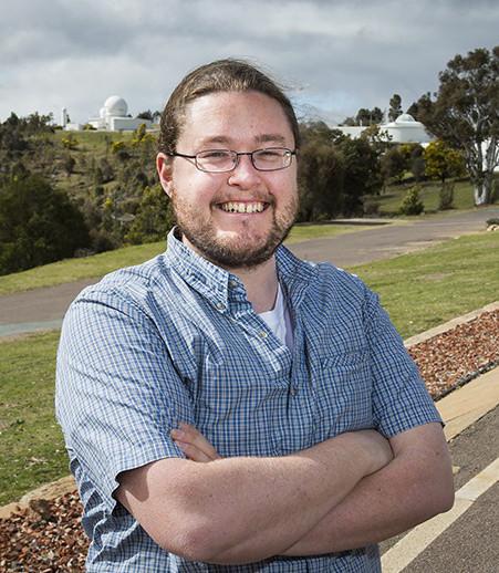 Dr. Brad Tucker. Image credit: Stuart Hay, Australian National University.