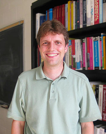 Professor Harald Pfeiffer. Image credit: Canadian Institute for Theoretical Physics / University of Toronto.