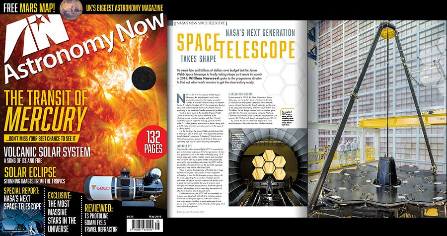 Golden eye: James Webb Space Telescope's mirror unveiled