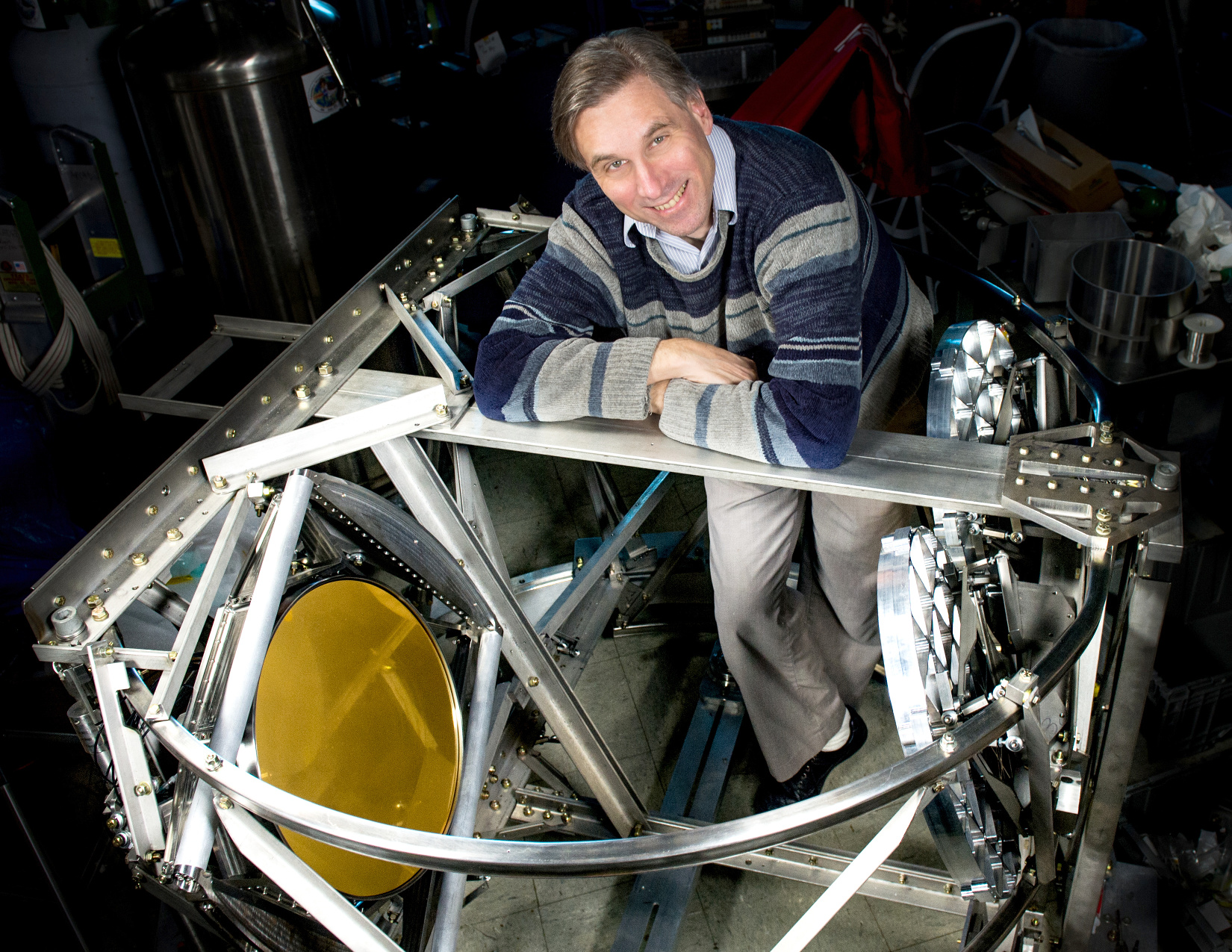 NASA scientist Al Kogut will search for evidence of cosmological inflation with a balloon-borne observatory called the Primordial Inflation Polarisation Explorer, or PIPER. Image credits: NASA/W. Hrybyk.