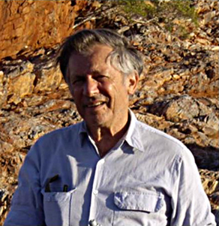 Dr. Andrew Glikson. Image credit: Australian National University (ANU).