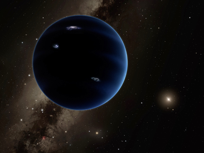 Artist's conception of Planet Nine. Image credit: Caltech/R. Hurt (IPAC).