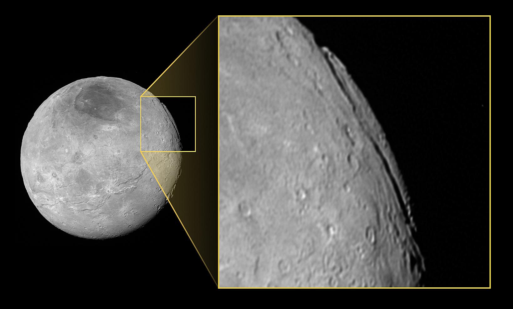 Charon Moon: A 'super Grand Canyon' On Pluto's Moon Charon