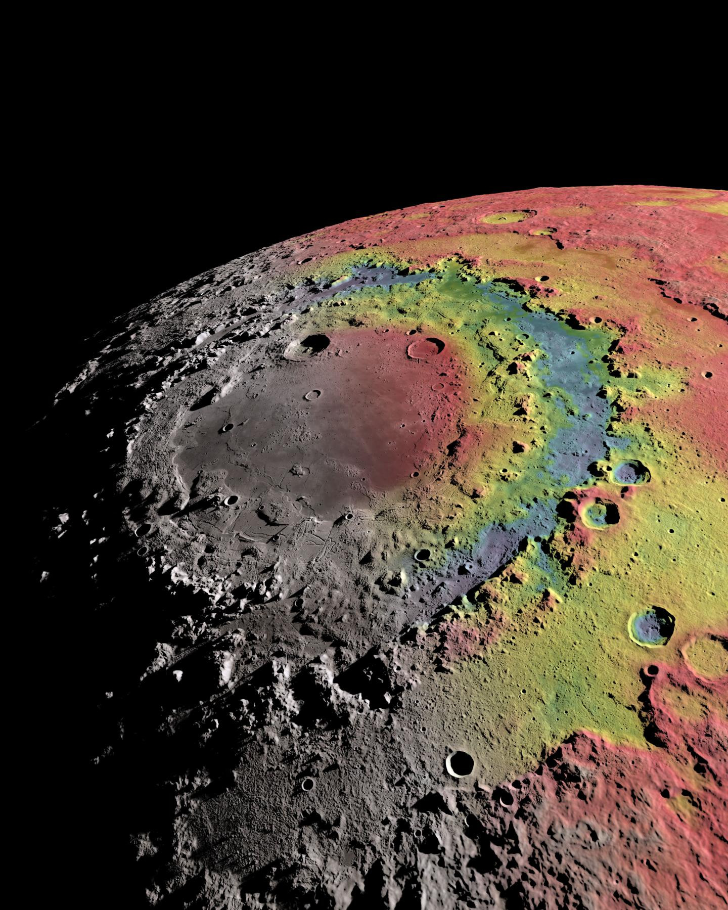 lunar impact how the moon s mare orientale was formed astronomy now