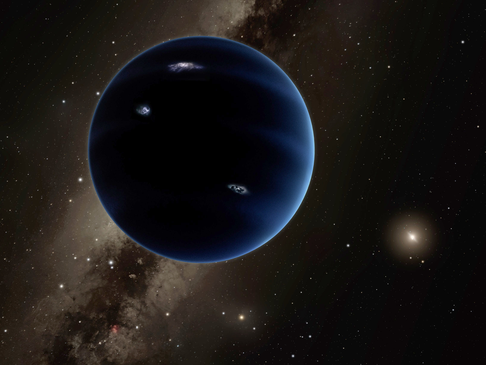 Curious tilt of the Sun traced to undiscovered Planet Nine ...