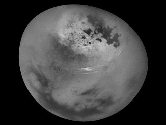 titan the largest moon of saturn essay Enceladus is saturn's sixth largest moon,  on 13 december 2004 it made its first flyby of saturn's moons titan and  pens an emotional essay coming out as a.