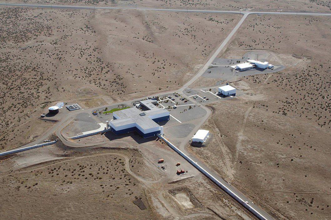 LIGO Hanford Observatory. Image credit: Caltech/MIT/LIGO Lab.